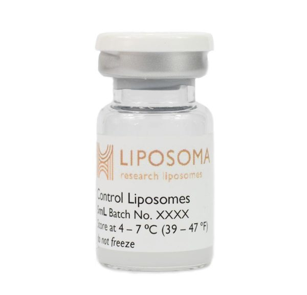 Image of Control Liposomes vial in a bottle